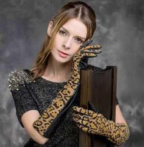 Женские-кожаные-перчатки-2018-2019-фото-4